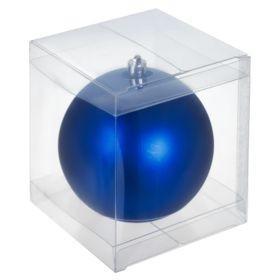 Прозрачная коробка для пластиковых шаров 10 см