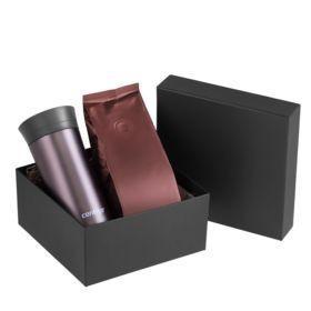 Набор Tonus: термостакан и кофе, коричневый