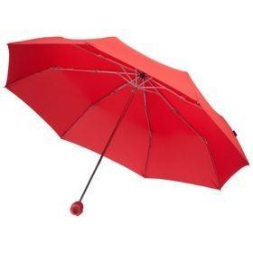 Зонт складной Floyd с кольцом, красный