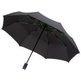 Зонт складной AOC Mini, зеленое яблоко