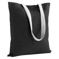 Холщовая сумка на плечо Juhu, черная