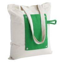 Холщовая сумка Dropper, складная, зеленая