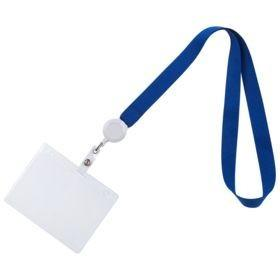 Лента для бейджа Retract, синий