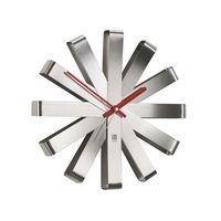 Часы настенные Ribbon, стальные