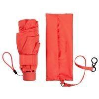 Зонт складной Minipli Colori S, оранжевый (кирпичный)