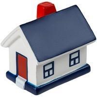 Сквиши-антистресс «Домик», с синей крышей