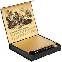 Набор Goldhunters, блокнот с ручкой