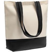 Холщовая сумка Shopaholic, черная