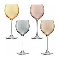 Набор бокалов для вина Polka, металлик