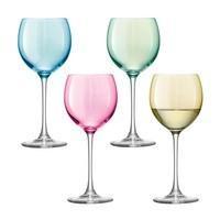 Набор бокалов для вина Polka, пастельный
