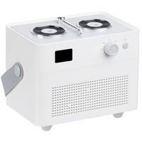 Переносной увлажнитель-ароматизатор с подсветкой Breathe at Ease, белый