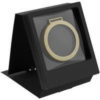 Рамка Transparent с шубером, черная