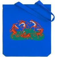 Холщовая сумка Tigerdance, ярко-синяя