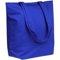 Сумка для покупок на молнии Shopaholic Zip, синяя