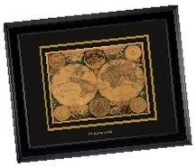 Панно «Карта мира»