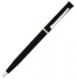 Ручка шариковая Euro Chrome, черная