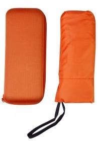 Зонт складной Unit Five, оранжевый