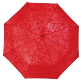 Складной зонт Magic с проявляющимся рисунком, красный
