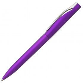 Ручка шариковая Pin Silver, фиолетовый металлик