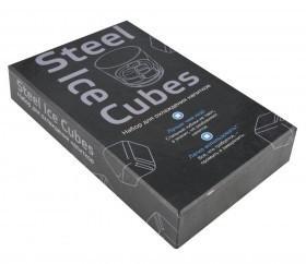 Кубики для виски Ice Cubes, серебристые