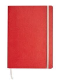 Ежедневник Vivien, недатированный, красный