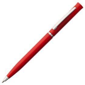 Ручка шариковая Euro Chrome, красная