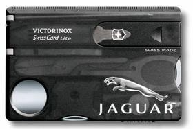 Набор инструментов SwissCard Lite, черный