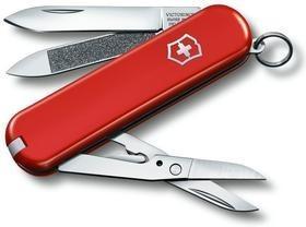 Нож-брелок Executive 81, красный