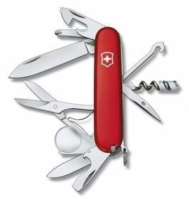 Офицерский нож Explorer 91, красный