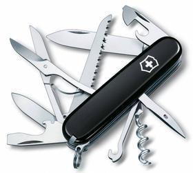 Офицерский нож Huntsman 91, черный