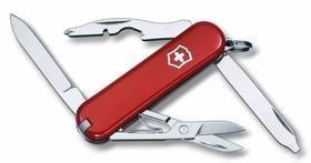 Нож-брелок Rambler 58, красный