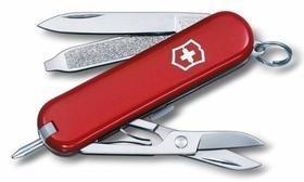 Нож-брелок Signature 58, красный