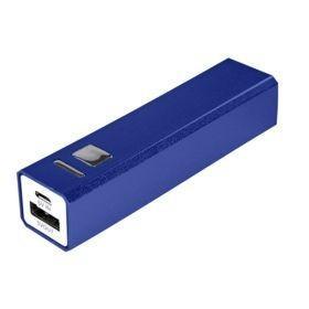 Внешний аккумулятор Alum 2800 мАч, ver. 2, синий