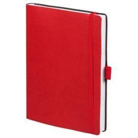 Ежедневник Flex Brand, недатированный, красный