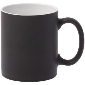Кружка Promo матовая, черная