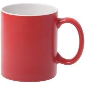 Кружка Promo матовая, красная