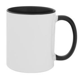Кружка Promo Plus для сублимационной печати, черная