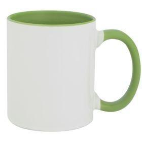 Кружка Promo Plus для сублимационной печати, зеленое яблоко