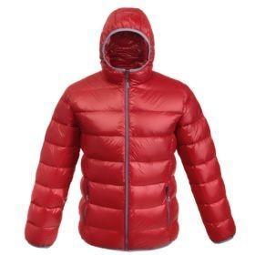 Куртка пуховая мужская Tarner, красная