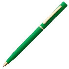 Ручка шариковая Euro Gold, зеленая